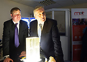 11/07/2017  REPRO FREE:    Dr. Eugene McCarthy MET Technology Manager GMIT, Minister of State Pat Breen,   Department of Enterprise and Innovation  .Photo:Andrew Downes, xposure .