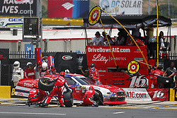 May 26, 2018 - Concord, North Carolina, United States of America - Ryan Reed (16) brings his car down pit road for service during the Alsco 300 at Charlotte Motor Speedway in Concord, North Carolina. (Credit Image: © Chris Owens Asp Inc/ASP via ZUMA Wire)