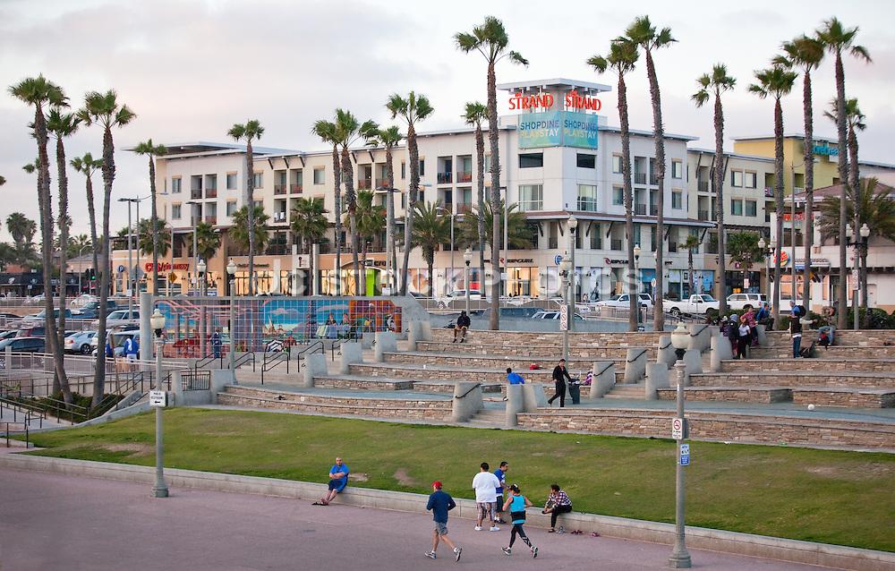 Downtown Huntington Beach at Main and PCH