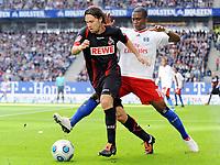 Fotball<br /> Tyskland<br /> Foto: Witters/Digitalsport<br /> NORWAY ONLY<br /> <br /> 30.08.2009<br /> <br /> v.l. Maniche, Eljero Elia HSV<br /> <br /> Bundesliga Hamburger SV - 1. FC Köln