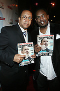 """l to r: Rev. Benjamin Chavis and Guest at The Russell Simmons and Spike Lee  co-hosted""""I AM C.H.A.N.G.E!"""" Get out the Vote Party presented by The Source Magazine and The HipHop Summit Action Network held at Home on October 30, 2008 in New York City"""