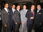 **EXCLUSIVE**.Philmore, Gils Aubry, Tommy Belisis..Tommy Belisis CEO of John Thomas Financial receives Man of The Year for leadership and services from Michael Bloomberg..Fundraiser for Mike Bloomberg Campaign..Villa Veron Manor..Bronx, NY, USA..Thursday, October 22, 2009..Photo By Celebrityvibe.com.To license this image please call (212) 410 5354; or Email: celebrityvibe@gmail.com ; .website: www.celebrityvibe.com.
