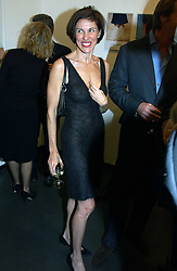 NORI STARCK  at an exhibition of photographs by Matthew Mellon entitled Famous Feet - featuring well known people wearing shoes from Harrys of London, held at Hamiltons Gallery, Carlos Place, London on 22nd November 2004.<br /><br />NON EXCLUSIVE - WORLD RIGHTS