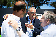 August 15, 2019:  Quail Motorsport Gathering, Stefano Domenicali, CEO of Lamborghini, Emanuele Pirro, Jean Todt, President of the FIA