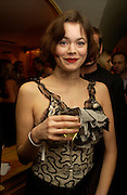 Jasmine Guinness. Artists Independent Networks  Pre-BAFTA Party at Annabel's co hosted by Charles Finch and Chanel. Berkeley Sq. London. 11 February 2005. . ONE TIME USE ONLY - DO NOT ARCHIVE  © Copyright Photograph by Dafydd Jones 66 Stockwell Park Rd. London SW9 0DA Tel 020 7733 0108 www.dafjones.com