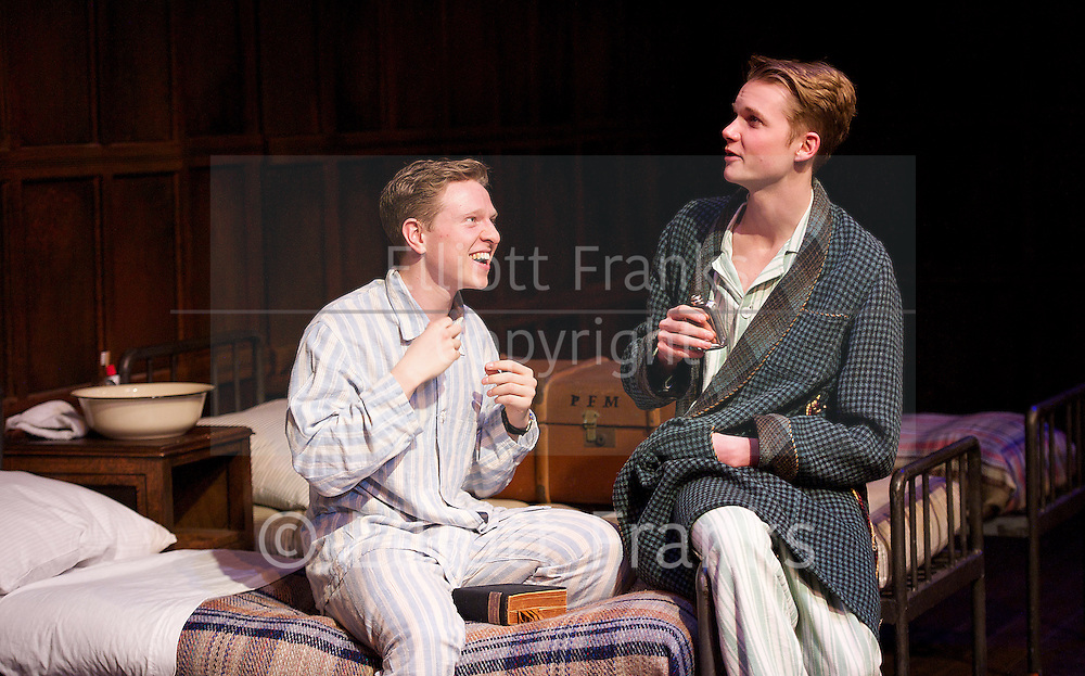 Another Country <br /> by Julian Mitchell<br /> at Trafalgar Studios, London, Great Britain <br /> press photocall<br /> 4th April 2014 <br /> <br /> Will Attenborough as Judd<br /> Cai Brigden as Delahay<br /> Rob Callender as Bennett <br /> Mark Donald as Devenish<br /> Dario Coates as Sanderson <br /> Bill Milner as Wharton <br /> James Parris as Menzies<br /> Mark Quartley as Barclay<br /> Rowan Polonski as Fowler<br /> Julian Wadham as Vaughan Cunningham