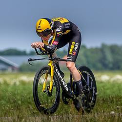 EMMEN (NED) June 16: <br />CYCLING <br />Dutch Nationals Time Trail Women Elite Riejanne Markus