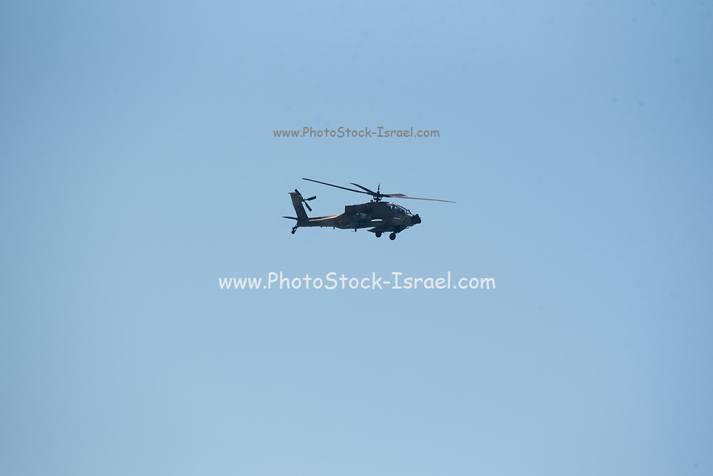 Israeli Air force (IAF) Apache AH-64D Longbow in flight