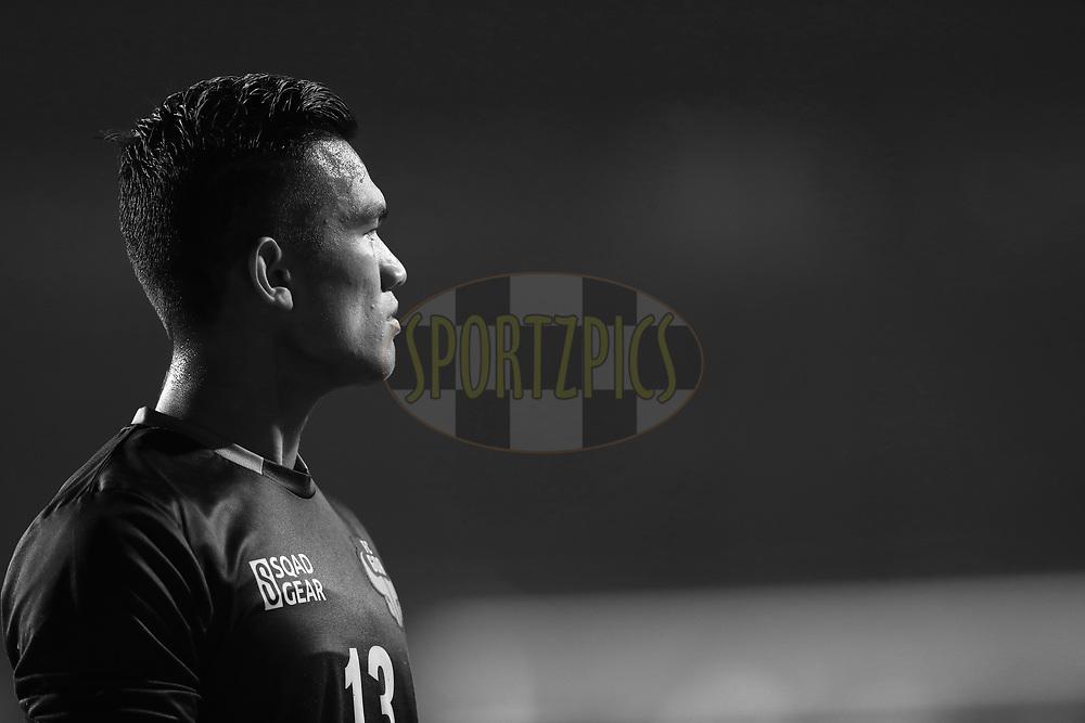 Mohammad Nawaz Goalkeeper of FC Goa during match 24 of the Hero Indian Super League 2018 ( ISL ) between ATK and Bengaluru FC held at the Yuba Bharati Krirangan stadium (Salt Lake Stadium) in Salt Lake Kolkata, India on the 31st October<br /> <br /> Photo by: Ron Gaunt /SPORTZPICS for ISL