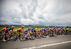Gal GLIVAR of ADRIA MOBIL, Kristijan HOCEVAR of ADRIA MOBIL during 2nd Stage of 27th Tour of Slovenia 2021 cycling race between Zalec and Celje (147 km), on June 10, 2021 in Slovenia. Photo by Vid Ponikvar / Sportida