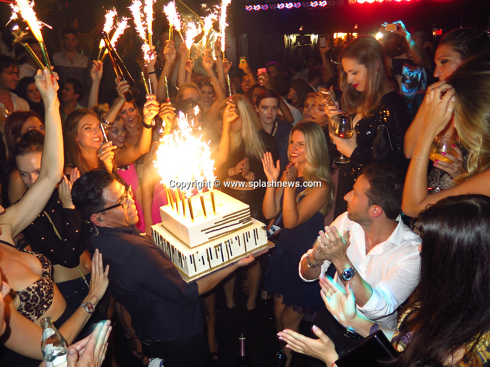 EXCLUSIVE: Provocateur nightclub owner Brian Gefter celebrates his birthday.<br />