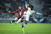 Sebastien Corchia ( Lille )  - Jonathan Bamba ( Angers )<br /> <br /> FOOTBALL : Lille OSC vs SCO Angers - Ligue 1 - Lille - 11/02/2017<br /> <br /> Norway only