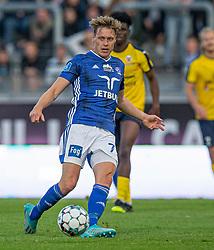 Jesper Christjansen (Lyngby Boldklub) under kampen i 3F Superligaen mellem Lyngby Boldklub og Hobro IK den 20. juli 2020 på Lyngby Stadion (Foto: Claus Birch).