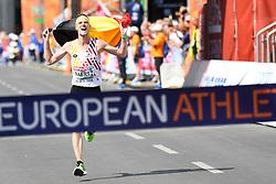 12-08-2018 ATLETIEK: EUROPESE KAMPIOENSCHAPPEN: BERLIJN<br />Koen Naert wint de marathon.<br /><br />Foto: SCS/Erik van Leeuwen