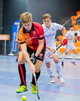 ROTTERDAM  - NK Zaalhockey,   wedstrijd om brons.  heren Oranje Rood- Kampong. OR wint.    COPYRIGHT KOEN SUYK