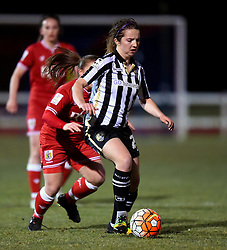 Alice Hassall of Notts County Ladies - Mandatory by-line: Paul Knight/JMP - Mobile: 07966 386802 - 23/02/2016 -  FOOTBALL - Stoke Gifford Stadium - Bristol, England -  Bristol City Women v Notts County Ladies - Pre-season friendly