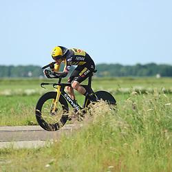 EMMEN (NED) June 16: <br /> CYCLING <br /> Tom Dumoulin (Netherlands / Team Jumbo - Visma)
