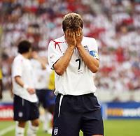 Photo: Chris Ratcliffe.<br /> England v Ecuador. 2nd Round, FIFA World Cup 2006. 25/06/2006.<br /> David Beckham of England.