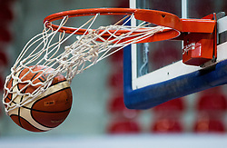Ball during basketball match between KK Cibona Zagreb (CRO) and KK Mornar (MNE) in Round #4 of FIBA Champions League 2016/17, on November 9, 2016 in Drazen Petrovic Basketball center, Zagreb, Croatia. Photo by Vid Ponikvar / Sportida