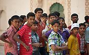 Students at the Mehrangarh Fort Jodhpur Rajasthan