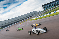 Action from Rounds 11 and 12 of the 2017 750 Motor Club Formula Vee Championship held at Rockingham. Photo by Jonathan Elsey.