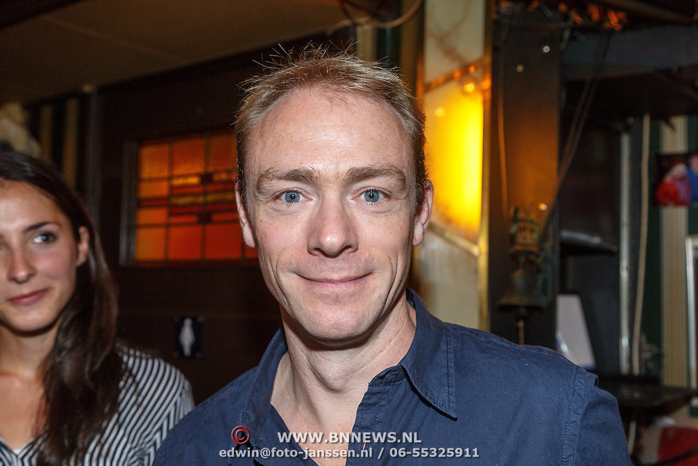 NLD/Amsterdam/20150916 - Perspresentatie Baantjer Live 2, Hylke van Sprundel