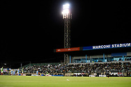 SYDNEY, AUSTRALIA - AUGUST 21: A general view during play during the FFA Cup round of 16 soccer match between Marconi Stallions FC and Melbourne City FC on August 21, 2019 at Marconi Stadium in Sydney, Australia. (Photo by Speed Media/Icon Sportswire)