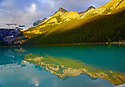 Canadian Rocky Mountains, Banff National Park, Lake Louise reflections