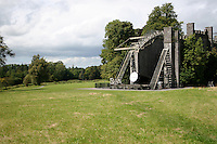 """The Great 72"""" Telescope built by Lord Rosse in the 1840's at Birr Castle County Offaly Ireland"""