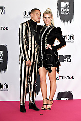 November 4, 2018 - Bilbao, Bizkaia, Spanien - Evan Ross mit Gattin Ashlee Simpson bei der Verleihung der MTV European Music Awards 2018 in der Bizkaia Arena. Bilbao, 04.11.2018 (Credit Image: © Future-Image via ZUMA Press)