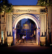 Paramount Studios Gate in  Los Angeles.