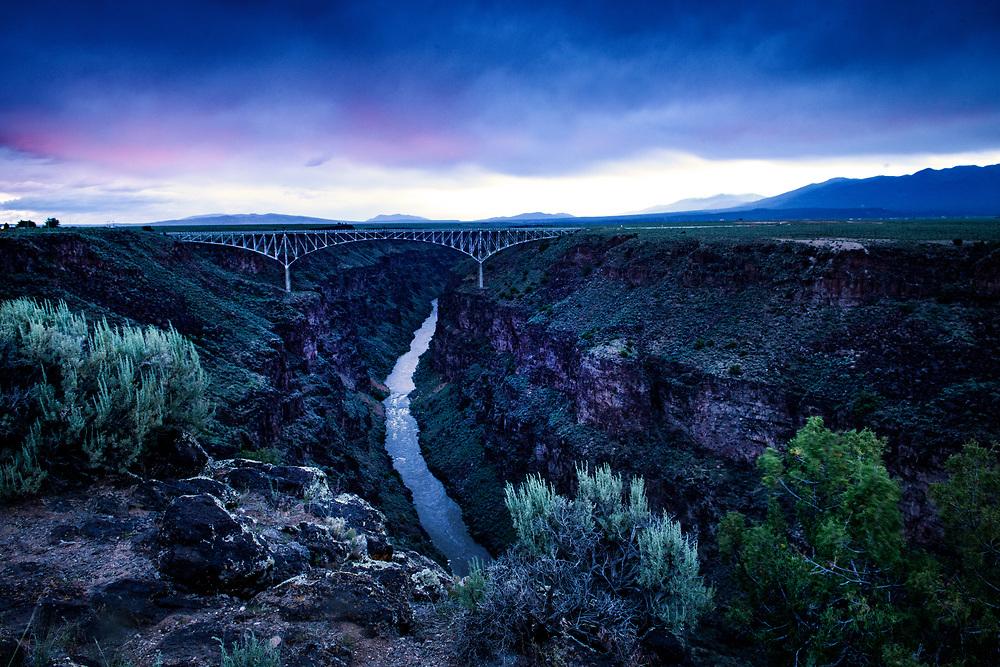 West Rim Trail, Rio Grande Del Norte National Monument, Taos, New Mexico