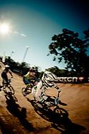 #68_BUCHANAN Caroline (AUS) in the quarter finals at the UCI BMX Supercross World Cup, Pietermaritzburg, 2011