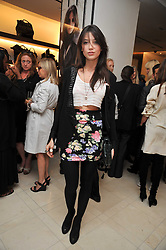 DAISY LOWE at a reception hosted by Vogue and Burberry to celebrate the launch of Fashions Night Out - held at Burberry, 21-23 Bond Street, London on 10th September 2009.