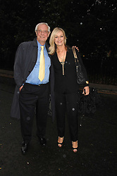 BARRY NORMAN and his daughter SAMANTHA at the annual Sir David & Lady Carina Frost Summer Party in Carlyle Square, London SW3 on 5th July 2007.<br /><br />NON EXCLUSIVE - WORLD RIGHTS