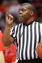 25 February 2015:  Winston Stith  during an NCAA MVC (Missouri Valley Conference) men's basketball game between the Southern Illinois Salukis and the Illinois State Redbirds at Redbird Arena in Normal Illinois