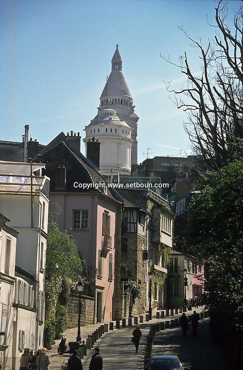 =  Montmartre hill ,   Paris  France     +