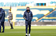 Leeds United midfielder Pablo Hernandez (19) arrives at the ground  during the Premier League match between Leeds United and Brighton and Hove Albion at Elland Road, Leeds, England on 16 January 2021.