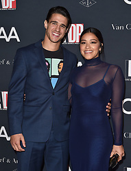 Natalie Portman, Erica Pelosini and others at at L.A. Dance Project's Annual Gala, Los Angeles, CA. 07 Oct 2017 Pictured: Gina Rodriguez,Joe LoCicero. Photo credit: BAUER-GRIFFIN / MEGA TheMegaAgency.com +1 888 505 6342