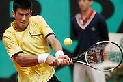 Roland Garros. Paris, France. June 4th 2007..Novak DJOKOVIC against Fernando VERDASCO..