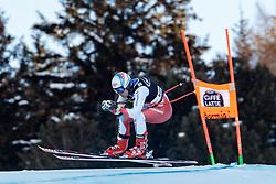 29.12.2017, Stelvio, Bormio, ITA, FIS Weltcup, Ski Alpin, alpine Kombination, Abfahrt, Herren, im Bild Mauro Caviezel (SUI) // Mauro Caviezel of Switzerland in action during the downhill competition for the men's Alpine combination of FIS Ski Alpine World Cup at the Stelvio course, Bormio, Italy on 2017/12/29. EXPA Pictures © 2017, PhotoCredit: EXPA/ Johann Groder
