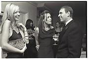 AMANDA CRONIN, TARA PALMER-TOMPKINSON, PRINCE ANDREW, Mala Lindsay dinner party, Chelsea, London. September 1999