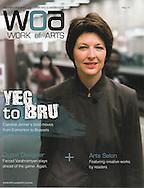 Caroline Jenner. portraits and story for Work of Arts, the Alumni Magazine of the University of Alberta