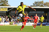 Burton Albion forward Lucas Akins (10) during the EFL Sky Bet League 1 match between Burton Albion and Scunthorpe United at the Pirelli Stadium, Burton upon Trent, England on 29 September 2018.