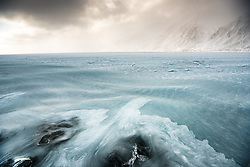 ICE EAGLE in Wijdefjorden in April, Spitsbergen, Svalbard, Norway