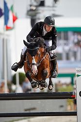 Whitaker William, GBR, Utamaro D Ecaussines<br /> Rolex Grand Prix CSI 5* - Knokke 2017<br /> © Dirk Caremans<br /> 09/07/17
