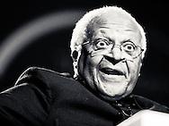 Archbishop Desmond Tutu in full flow