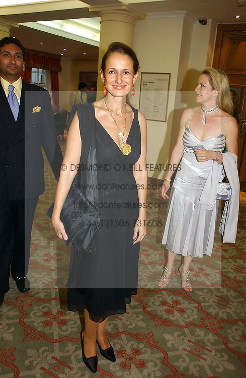 ISABEL GOLDSMITH at a private view of the forthcoming sale 'Property from the collection of HRH The Princess Margaret, Countess of Snowdon' and a private view of art by Marina Karella Princess Michael of Greece, held at Christie's, 8 King Street, London SW1 on 12th June 2006.<br /><br />NON EXCLUSIVE - WORLD RIGHTS