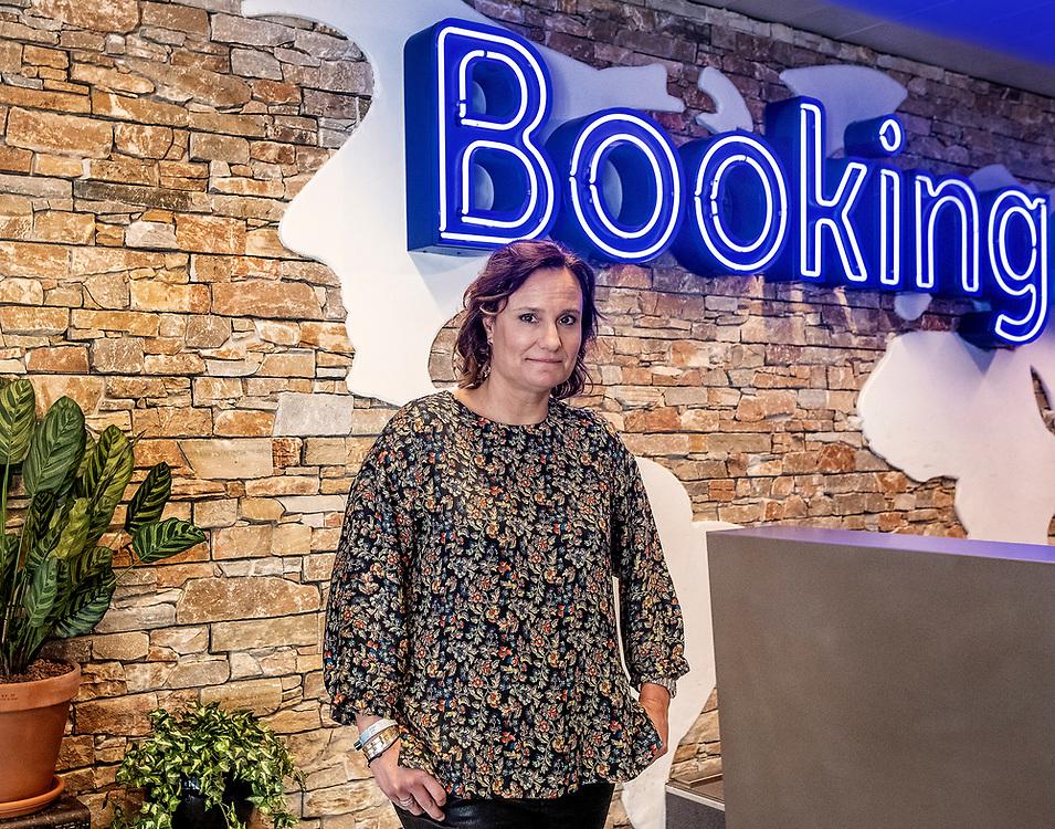 Nederland. Amsterdam, 27-02-2019. Foto: Patrick Post. Portret van Gillian Tans, CEO booking.com.