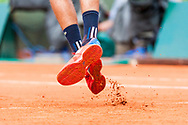 Shoes print service Ambiance during the Roland Garros French Tennis Open 2018, day 4, on May 30, 2018, at the Roland Garros Stadium in Paris, France - Photo Pierre Charlier / ProSportsImages / DPPI